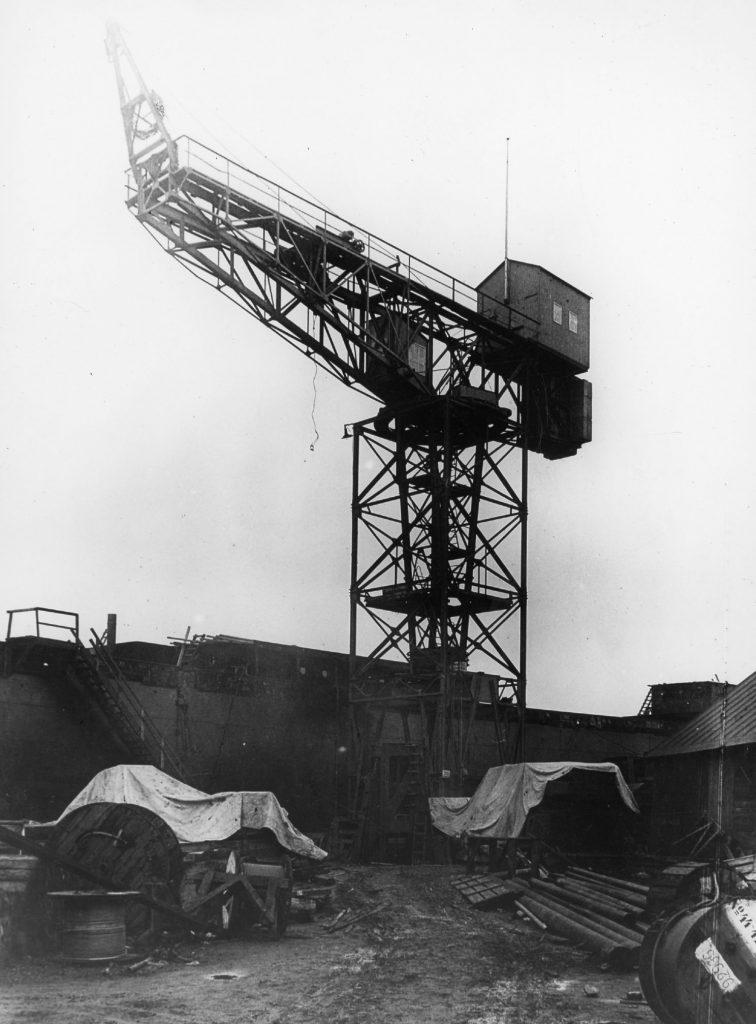 30067-Monteringskran 1926